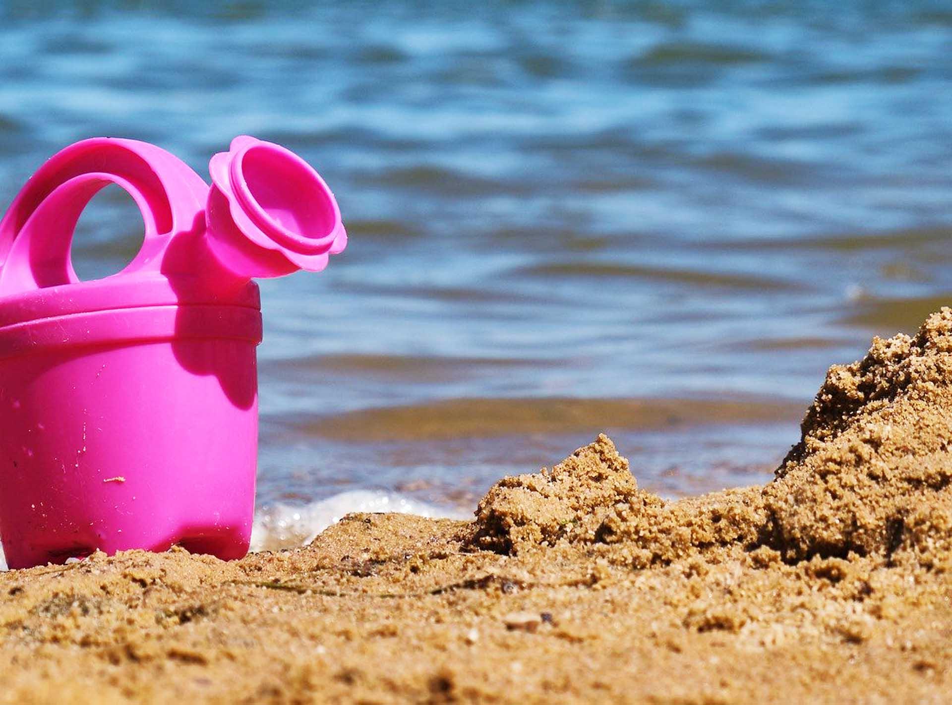 Sandfuchs Sandreinigung wir reinigen Ihren Strand- oder Badeseesand gründlich