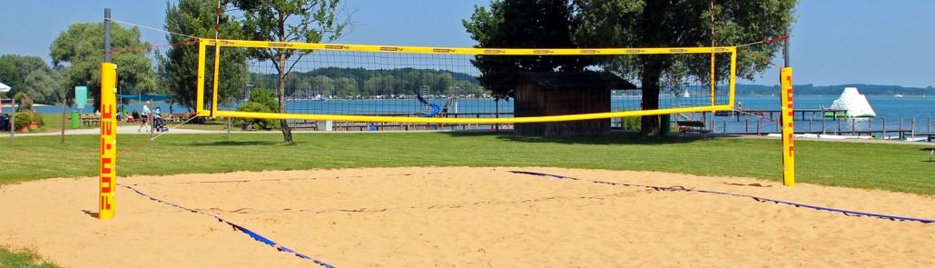 Volleyballfeldsandreinigung Beachvolleyballfeld reinigen