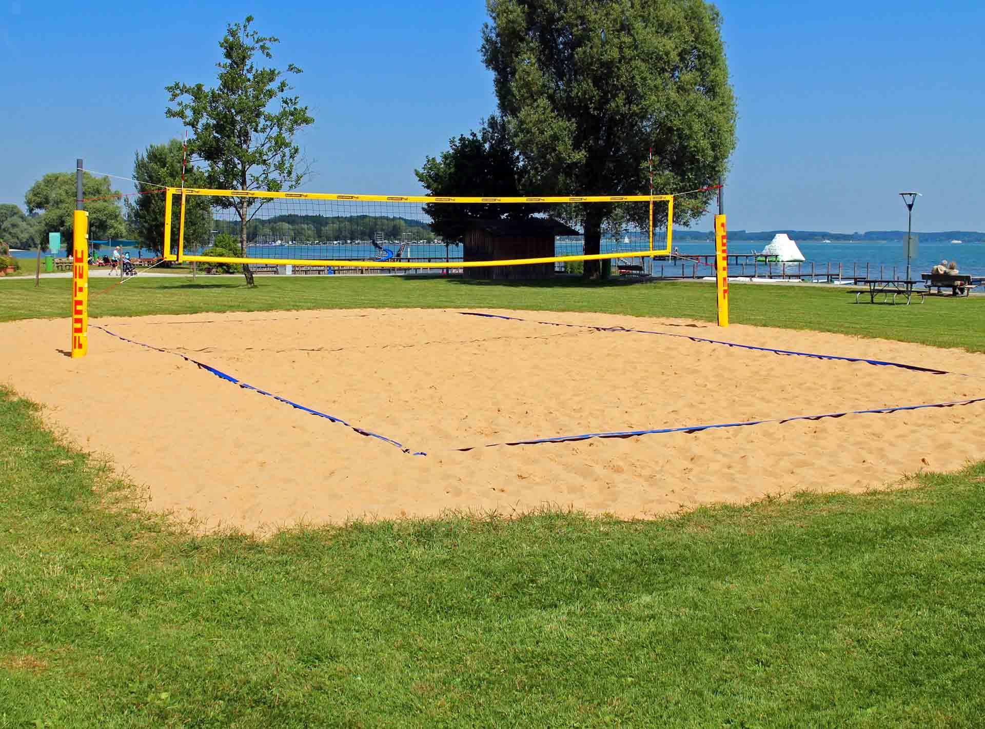 Sandfuchs Sandreinigung wir reinigen Ihr Beachvolleyballfeld