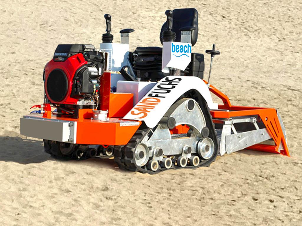 Sandfuchs Sandreinigungsmaschine Beach Sandreinigung
