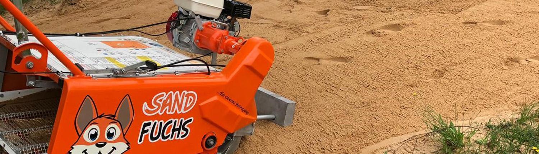 Sandfuchs Sandreinigungsmaschine Sandreinigung